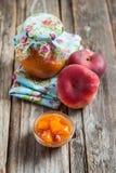 Peach Jam Stock Images