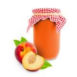 Peach jar Stock Images