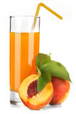 Peach juice Royalty Free Stock Image