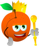 Peach king Royalty Free Stock Photos