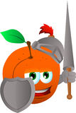 Peach knight Royalty Free Stock Photo