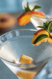 Peach Martinis Stock Images