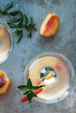 Peach Martinis Royalty Free Stock Image