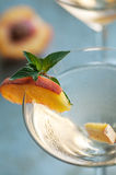 Peach Martinis Royalty Free Stock Photography