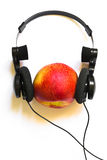 Peach music Royalty Free Stock Photos