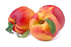 Peach or nectarine Royalty Free Stock Images