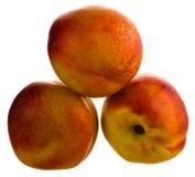 Peach nectarines Royalty Free Stock Image