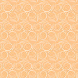Peach pattern Stock Images