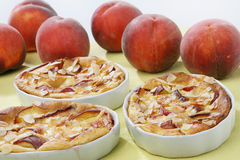 Peach pie Royalty Free Stock Images
