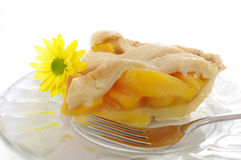 Peach Pie 2 Royalty Free Stock Images