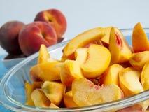 Peach Pie Stock Photos