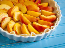 Peach Pie Stock Image