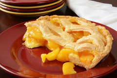 Peach pie Royalty Free Stock Photos