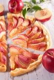 Peach pie Royalty Free Stock Image