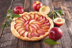 Peach pie Royalty Free Stock Photo