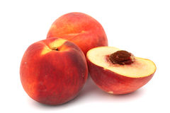Peach pile Stock Image
