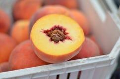 peach pojedyncza Obraz Stock