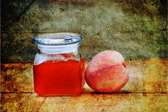 Peach Preserves Royalty Free Stock Photography