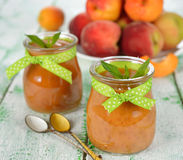 Peach puree Royalty Free Stock Photo