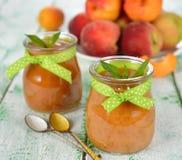 Peach puree Royalty Free Stock Photo