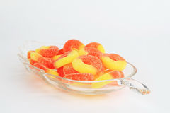 Peach Rings (candy) Stock Image