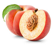 peach ripe Royaltyfri Fotografi