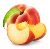 peach ripe Arkivfoto