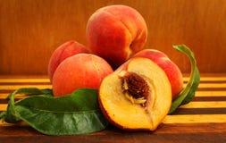 peach ripe 免版税库存照片