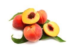 peach ripe Arkivbild