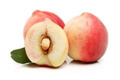 peach ripe Royaltyfri Bild