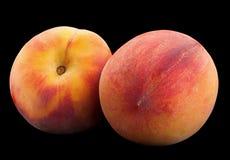 Peach ripe fruit Stock Images