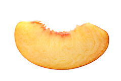 Peach Slice Stock Image