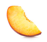 Peach slice Royalty Free Stock Image