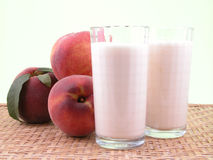 Peach smoothite Royalty Free Stock Photo