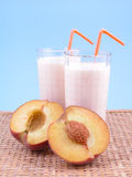 Peach smoothite Stock Images