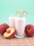 Peach smoothite Royalty Free Stock Photo