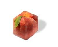 peach square Fotografia Stock