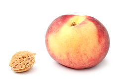Peach and stone Royalty Free Stock Images