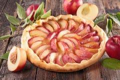 Free Peach Tart Royalty Free Stock Image - 68673736