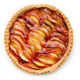 Peach tart Stock Photos