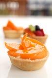 Peach tarts Stock Photography