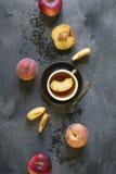 Peach tea Stock Images