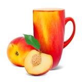 Peach tea Stock Photography