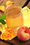 Peach tea Royalty Free Stock Photography