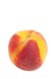 Peach on white Royalty Free Stock Photo