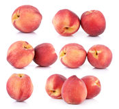 Peach with  on white background Royalty Free Stock Images