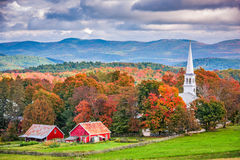 Peacham, Vermont, EUA imagens de stock royalty free