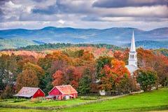 Peacham, Vermont, los E.E.U.U. imágenes de archivo libres de regalías