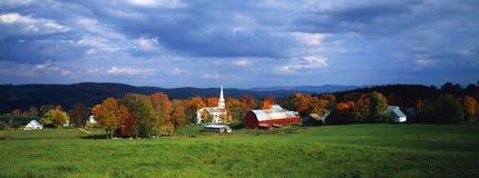 Peacham, VT in fall