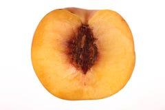 The Peache. Peache cut in the middle Stock Image